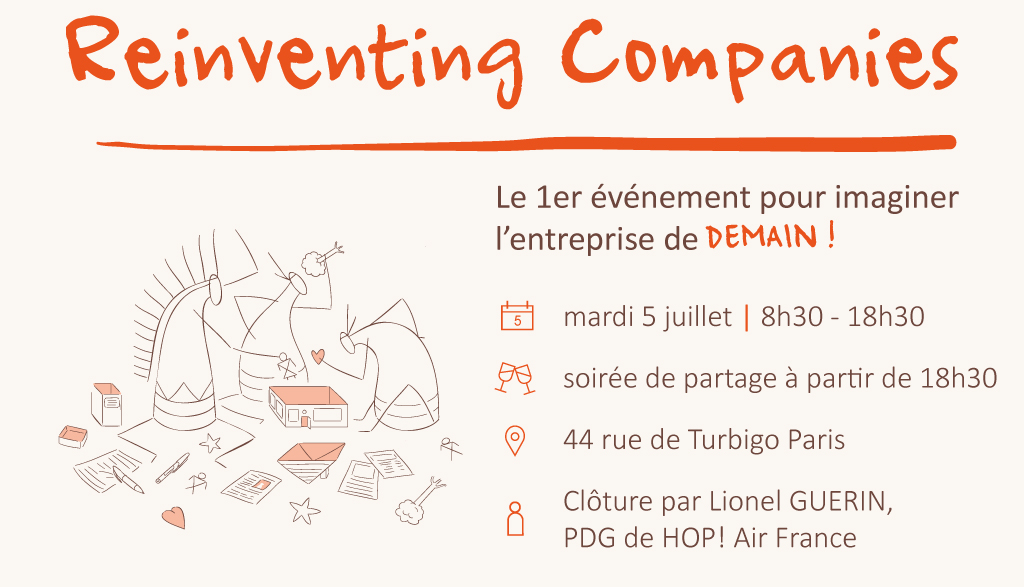 Reinventing Companies - 5 juillet