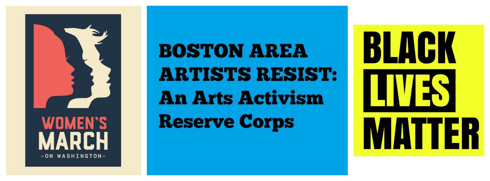 Boston Area Artists Resist: An Arts Activism Reserve Corps