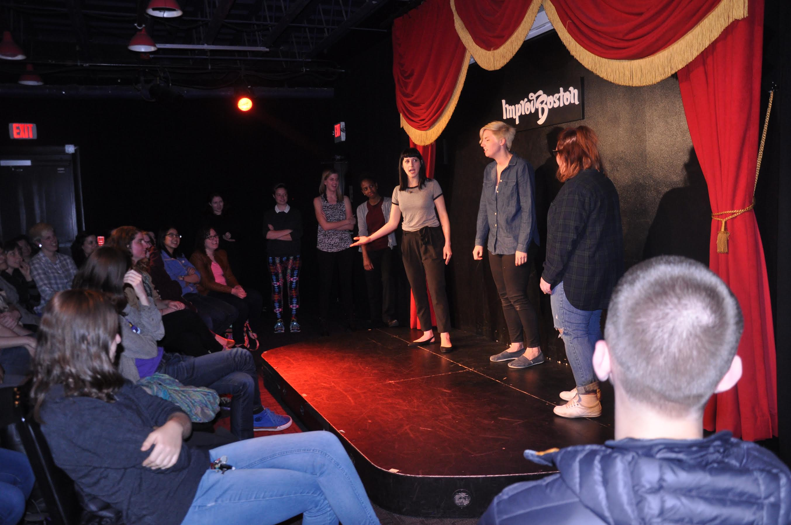 comedy shows boston