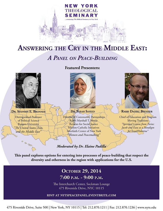 Peace Panel Flyer
