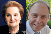 Madeleine Albright and Jeremy Wallace