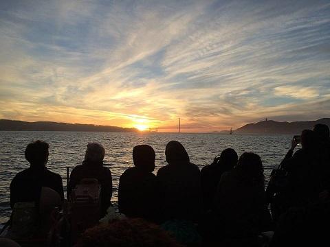 New Year's Eve Sunset Sail San Francisco Bay