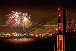 75th Anniversary of the Golden Gate Bridge Fireworks Sail