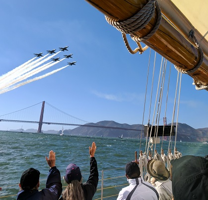 Fleet Week Blue Angels Golden Gate