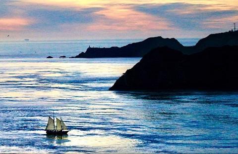 Freda B Point Bonita Eco-Sail