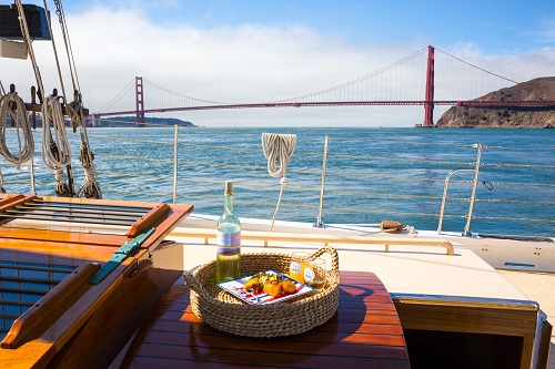 Golden Gate Thanksgiving Friday Lunch Sail