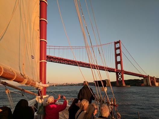 Golden Gate Bridge and Freda B