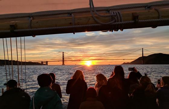 Golden Gate Labor Day Sunset