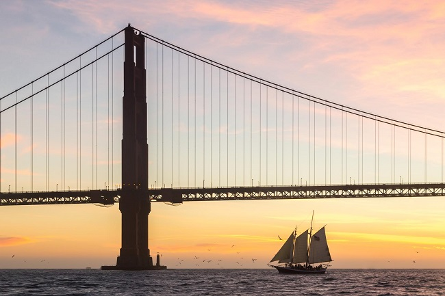 Golden Gate Sunset Sail on the San Francisco Bay