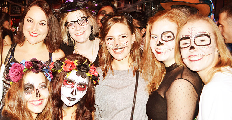 It's scary how fun our Halloween Pub Crawls are.