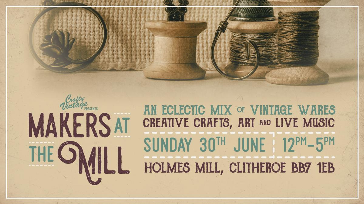 crafty vintage holmes mill