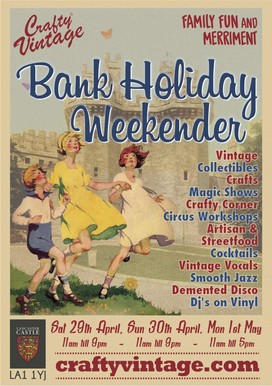 Crafty Vintage Lancaster Castle Poster