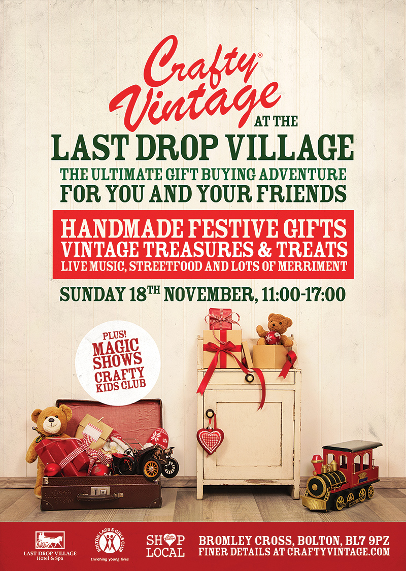 Crafty Vintage Last Drop Village Bolton
