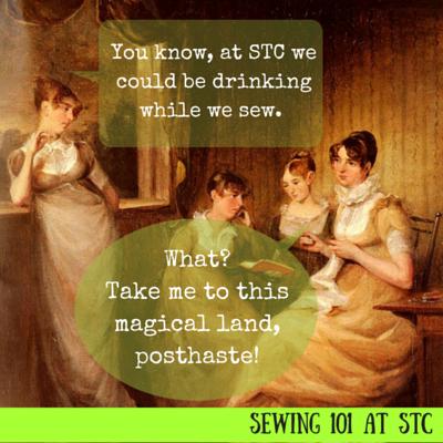 Sewing at STC
