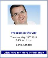 Freedom in the City with Jon Gaunt