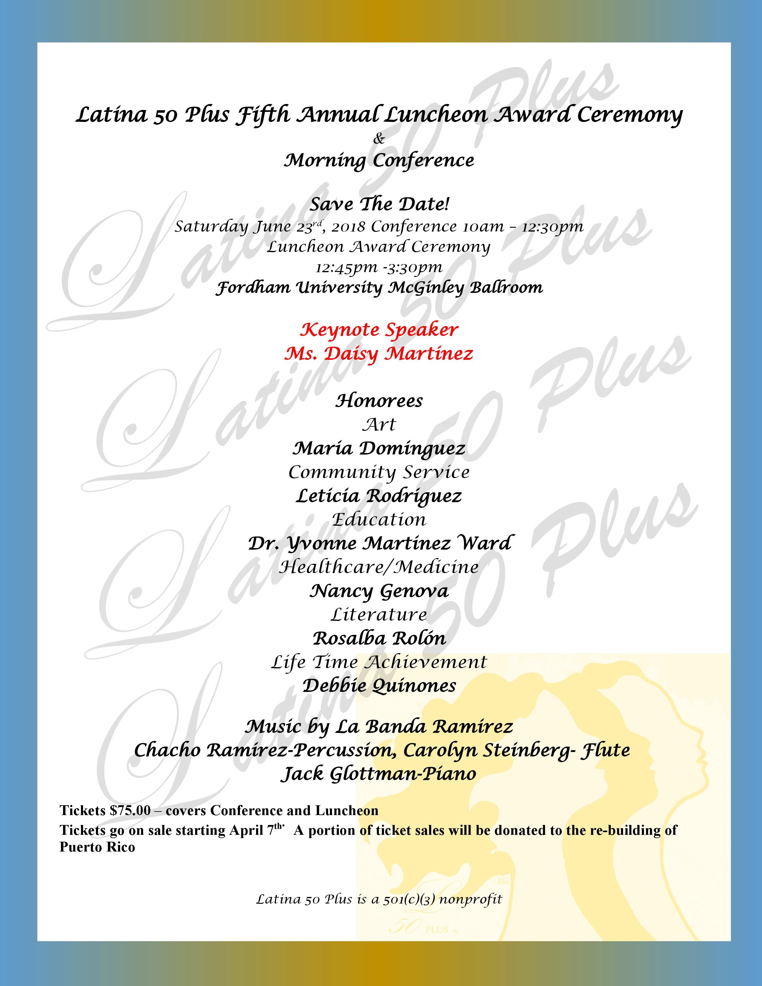 5th Annaual Event Flyer