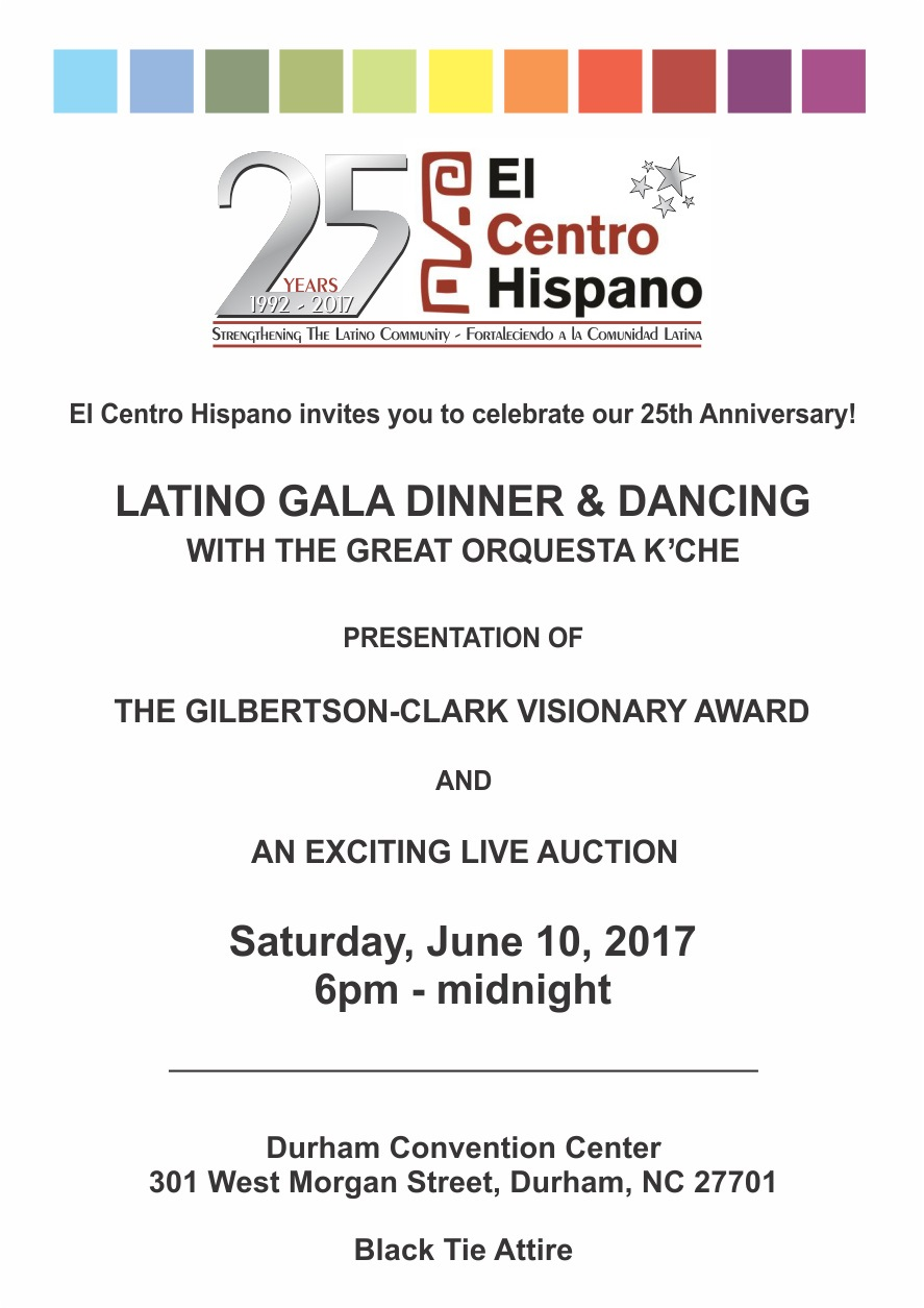 Invitacion Gala 2017