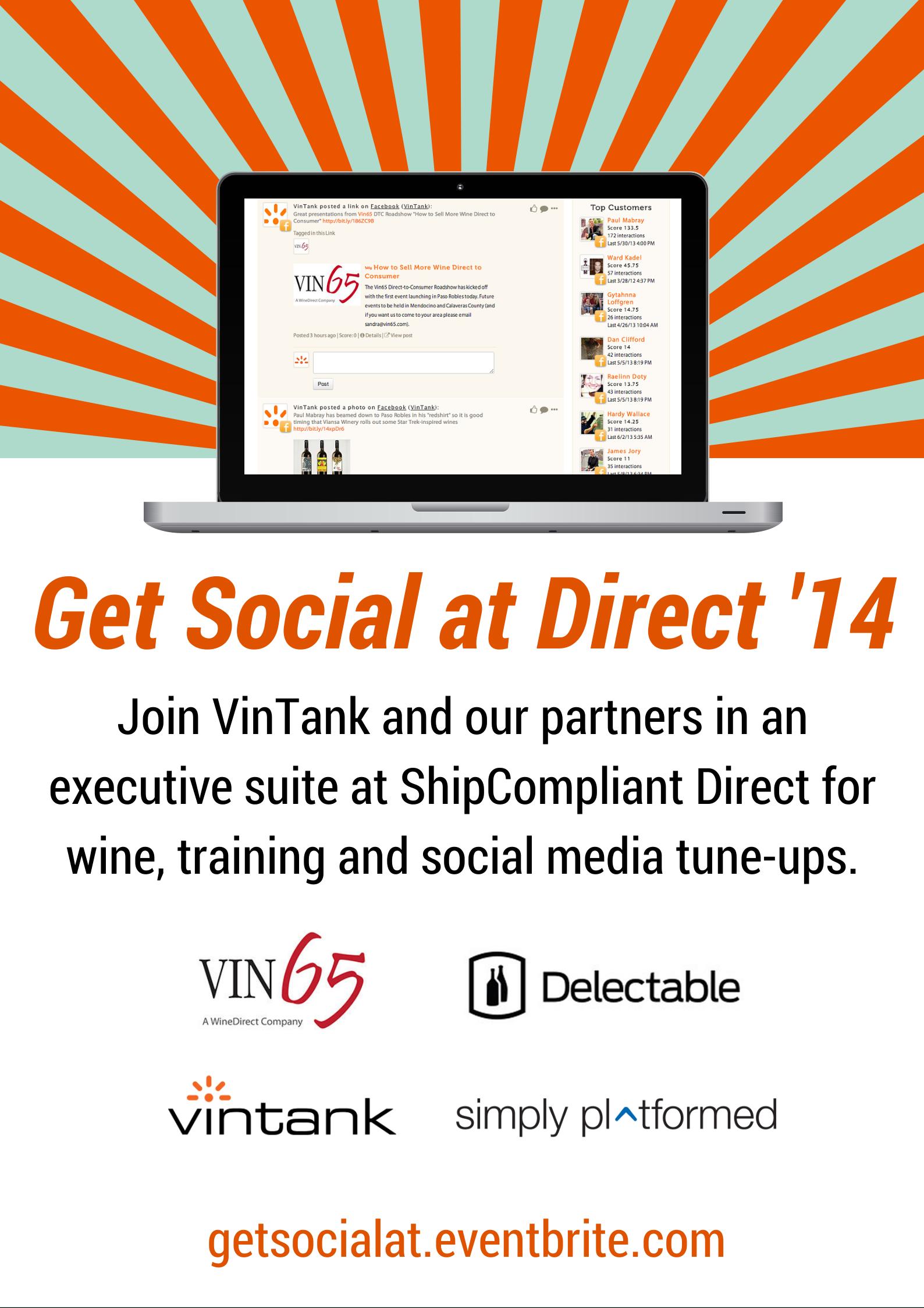 Get Social at Direct 2014