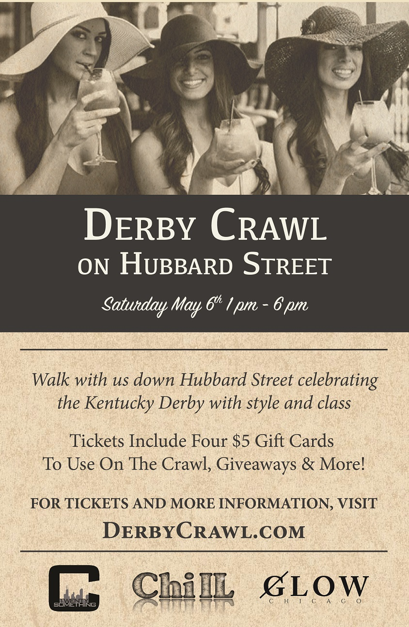 Kentucky Derby Bar Crawl in River North - Tickets include: Complimentary Entry & $20 in Gift cards