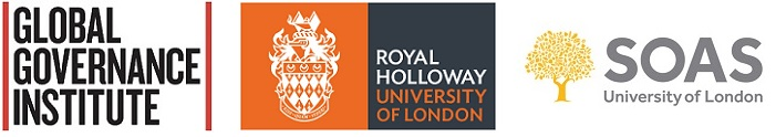 Logos: UCL Global Governance Institute, Royal Holloway and SOAS