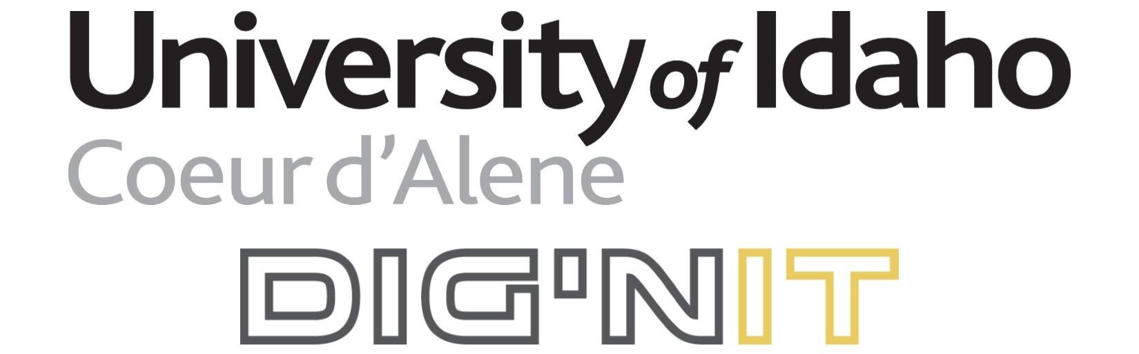 UI Dig'nIT logos