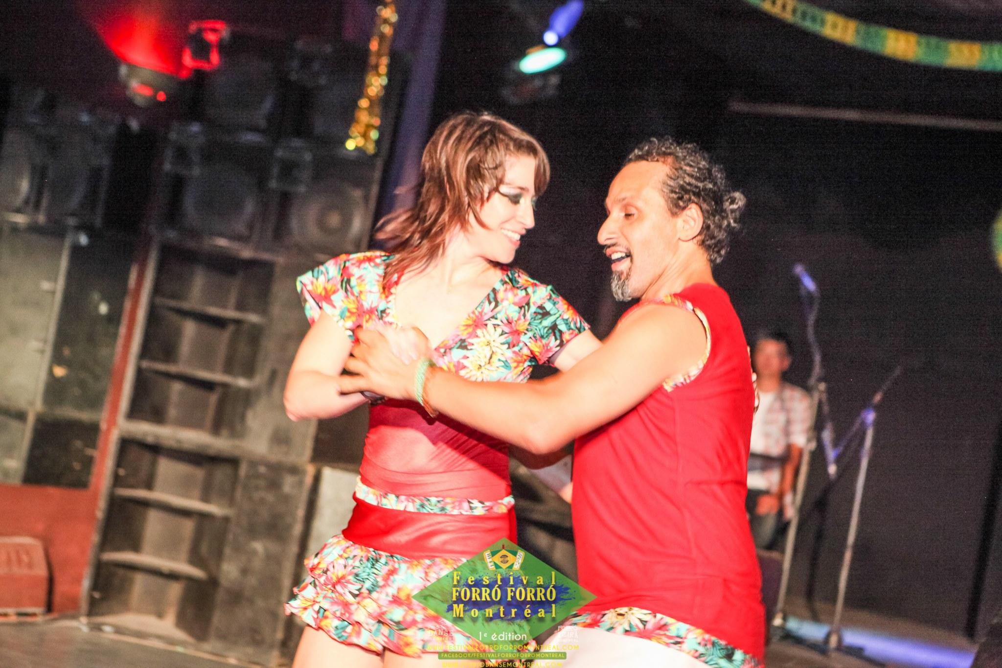 Mohammed et Ana, Professeur de forro à Studio Danse Montréal