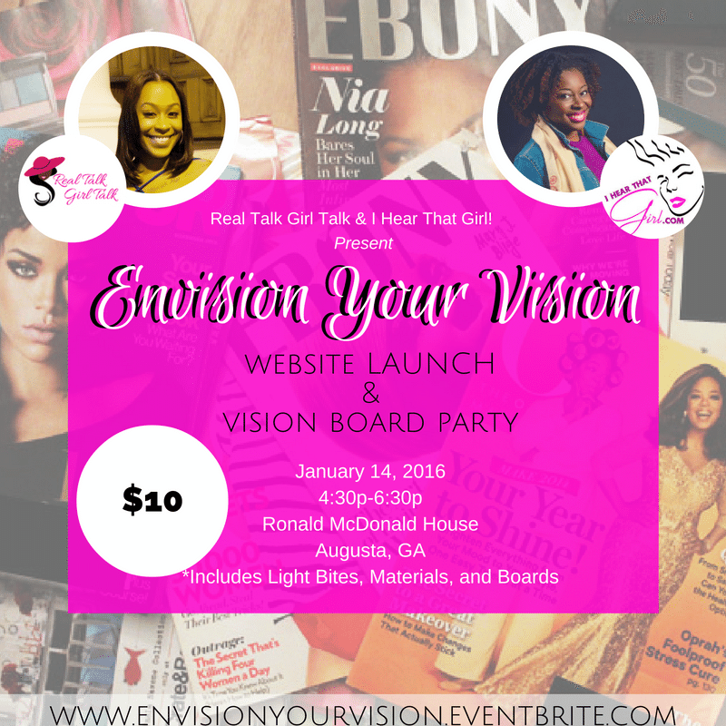 Envision Your Vision Website Launch And Vision Board Party Tickets