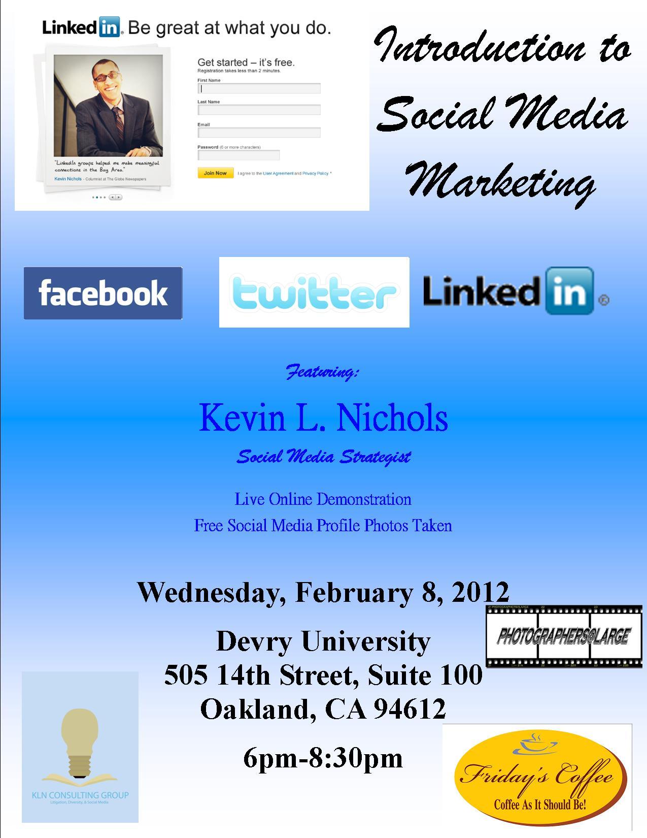 Social Media Class Flyer Version 2