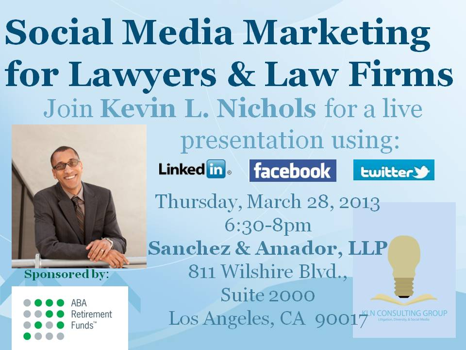 Social Media for Lawyers & Law Firms