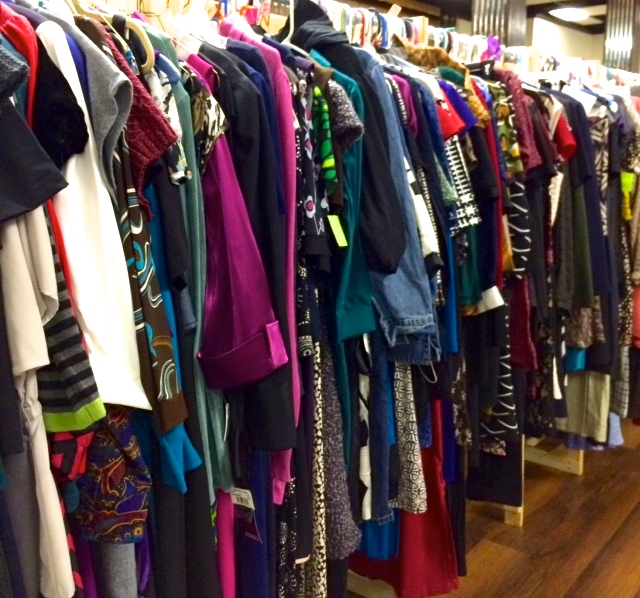 Racks & Racks of Beautiful Clothes!
