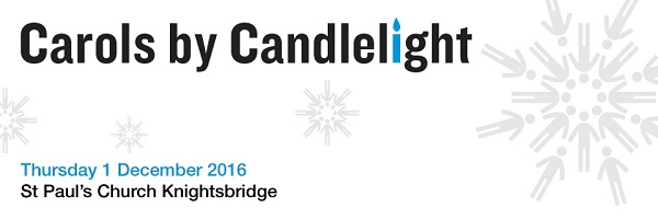 Carols by Candlelight Thursday 1 December 2016