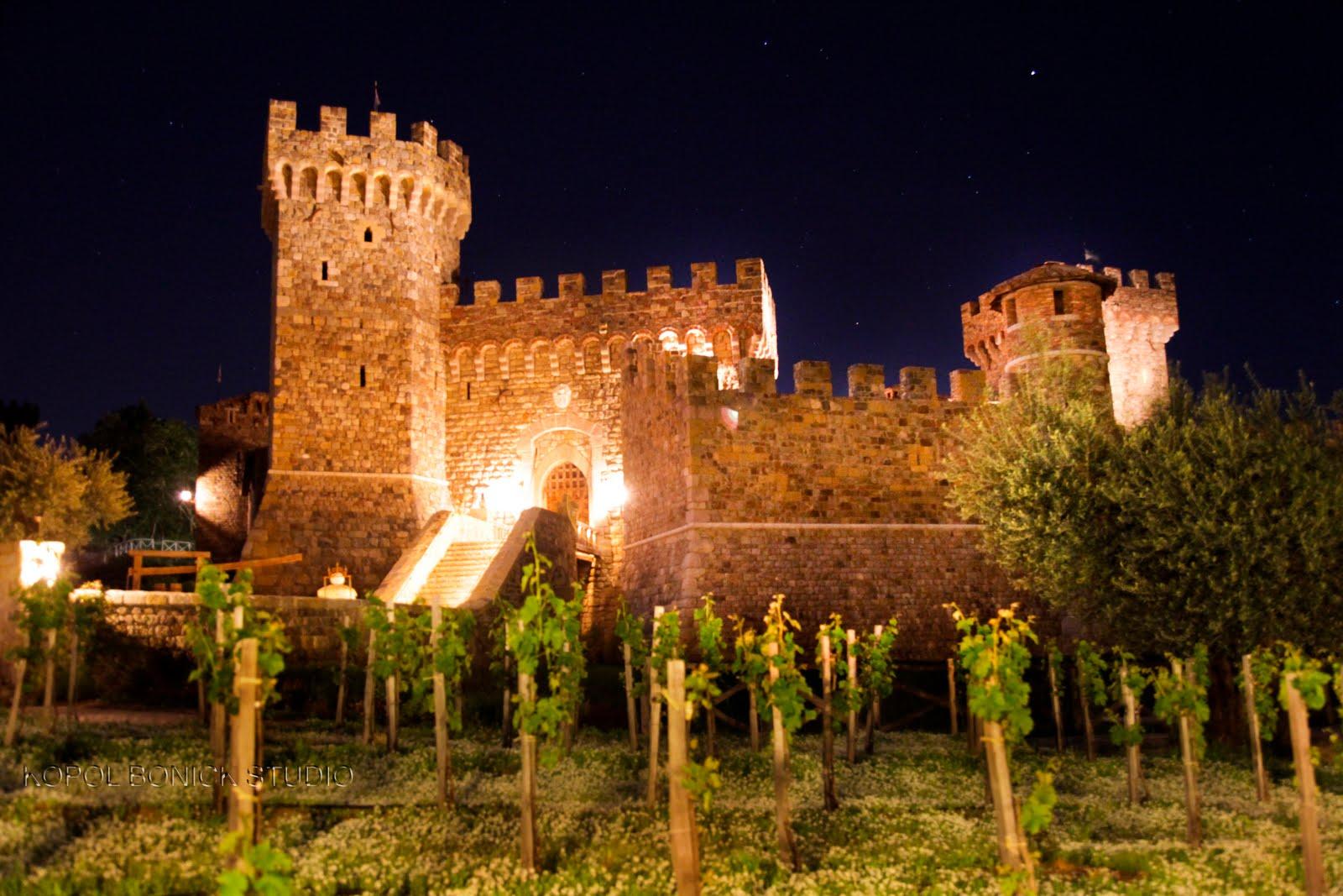 Castello di Amorosa napa wine tour