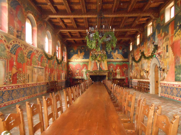 Napa-wine-tour-Castello-di-Amorosa-interior