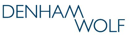 Denham Wolf Logo