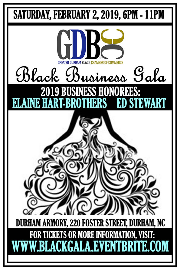 2019 Black Business Gala honoring Elaine Hart-Brothers and Ed Stewart