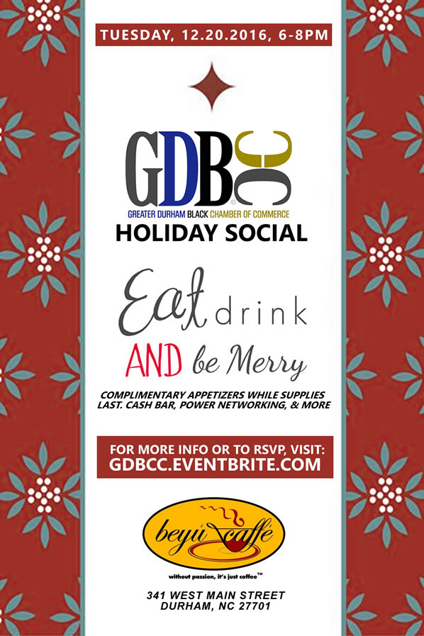 The GDBCC Holiday Social