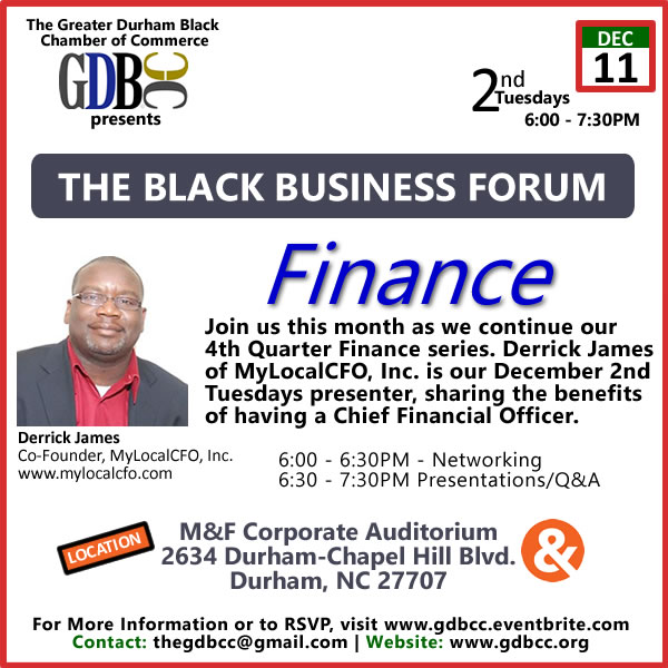The Black Business Forum - 2nd Tuesdays
