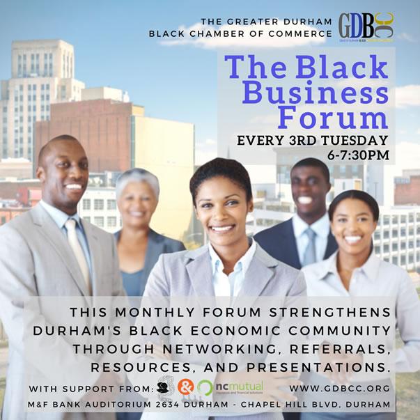 The Black Business Forum |  3rd Tuesdays