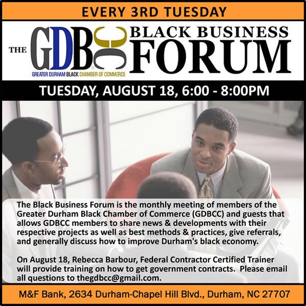 The Black Business Forum
