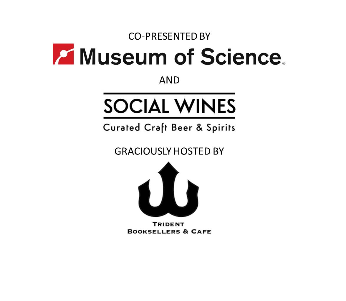 Logos from Museum of Science, Social Wines, and Trident Cafe