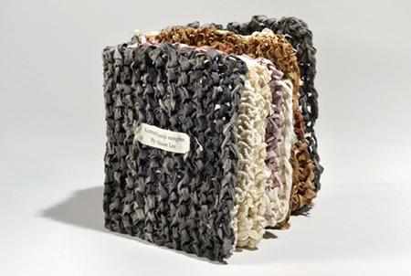 knitted hanji samples
