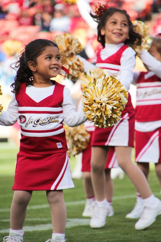 Jr. Gold Rush Cheerleading Program