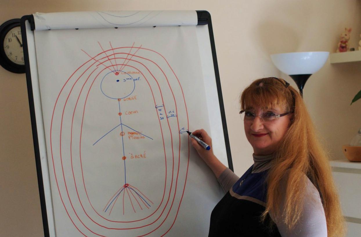 Saphira enseigne les chakras et corps subtils
