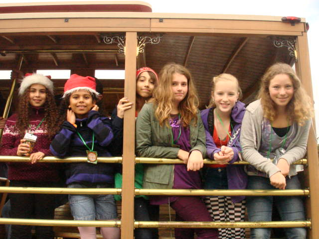 Cable Car Caroling 2010