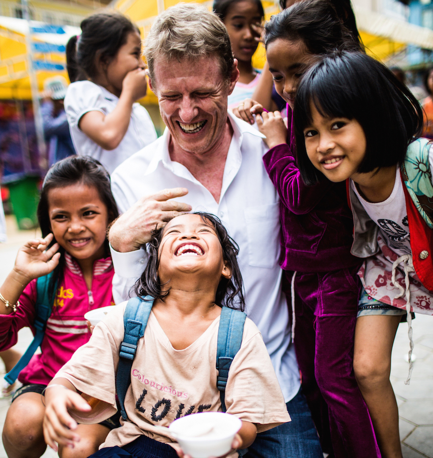 Scott Neeson turned his back on a glittering Hollywood career to set up Cambodian Children's Fund. It was a decision which would transform the lives of thousands of impoverished children.
