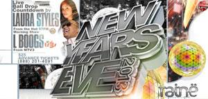 New Years Eve Raine Lounge 2013