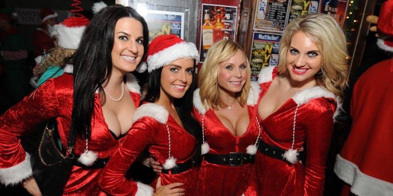 Bad Santa Christmas Party NYC Holiday Cruise aboard the Jewel Yacht NYC Skyport Marina