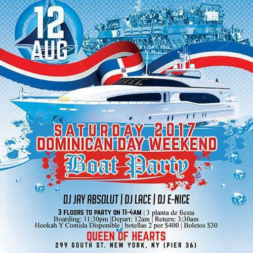 Dominican Midnight Cruise NYC Queen of Hearts Boat