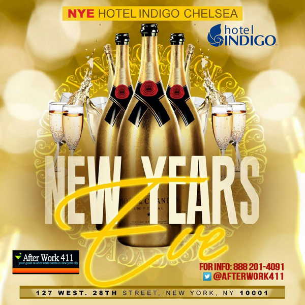 Hotel Indigo NYC New Years Eve New York Chelsea NYC
