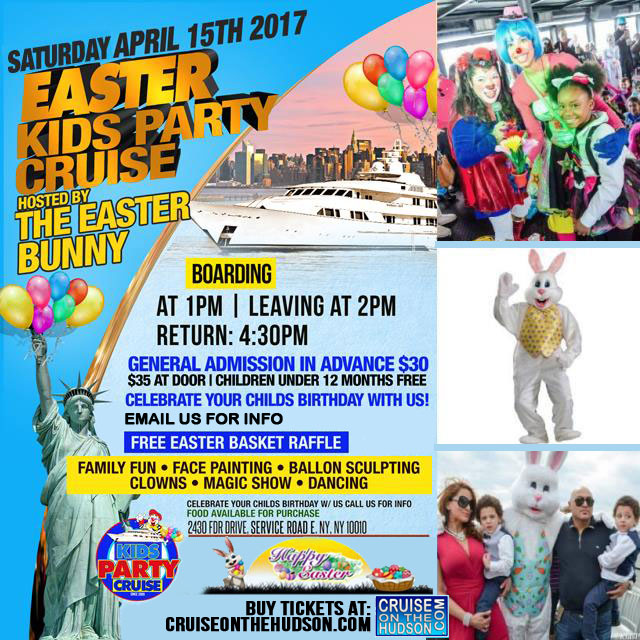 The Kids Easter Cruise NYC Kids Easter Party New York Skyport Marina